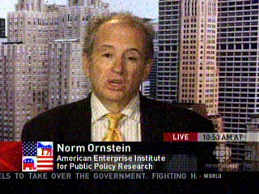 Norm Ornstein -  American Enterprise Inst -- and Huffington Post