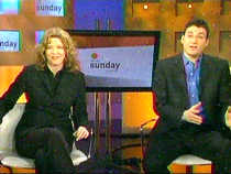 CBC gals Carole MacNeil and Evan Solomon