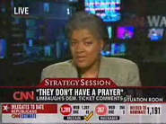 Donna Brazile, Rush lambaster, on CNN