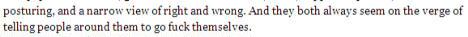 excerpt from Arianna Huffington column