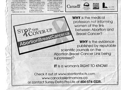 Abortion in canada essay