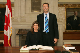 Rona Ambrose with hubby Bruce