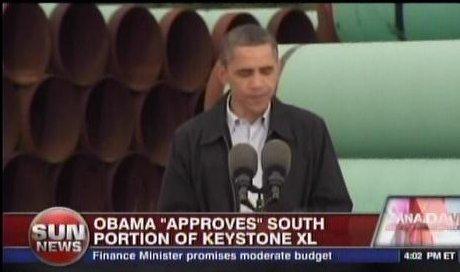Sun News capture of Obama mendacity