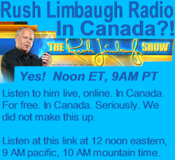 Rush Limbaugh Radio Show in Canada