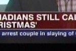 "Canadians prefer to call it Christmas. Not ""holidays."""