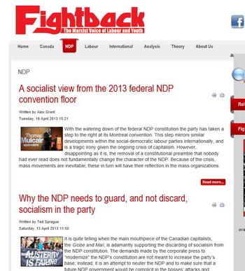 marxist.ca-NDP ties