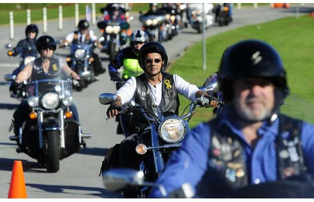 In BC: Bikers join Washington DC 9/11 Bikers Honoring 9/11 heroes