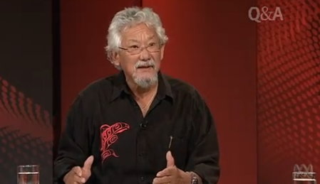 Globe and Mail goes to bat for left-wing moonbat, Suzuki