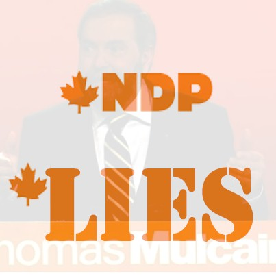 NDP bigotry, lies, on display in latest fundraising email