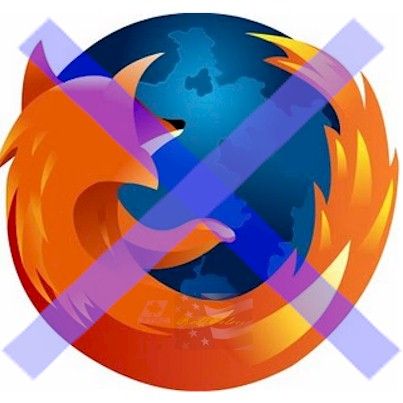 Lose Firefox. But if you must keep it, don't do web searches with it and they'll go broke.