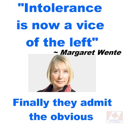 """Intolerance is now a vice of the left"" – says a liberal media columnist"