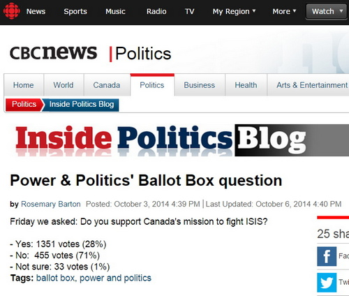 The state-owned CBC: they're not like us.