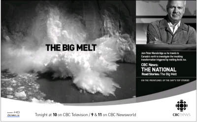 CBC ad in National Post