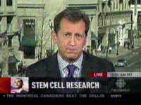 CBC's reporter Paul Hunter misleads Canadians re EMBRYONIC stem cell research